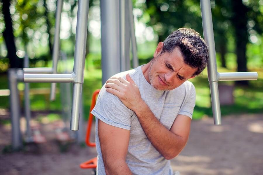 Dolor de hombro postura
