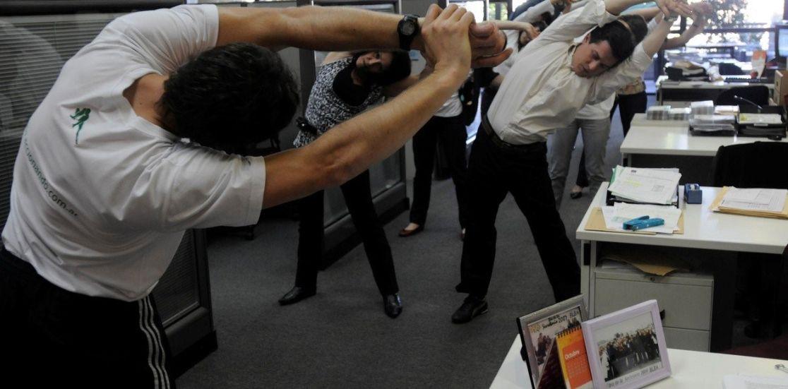 ejercicios prevención en el trabajo