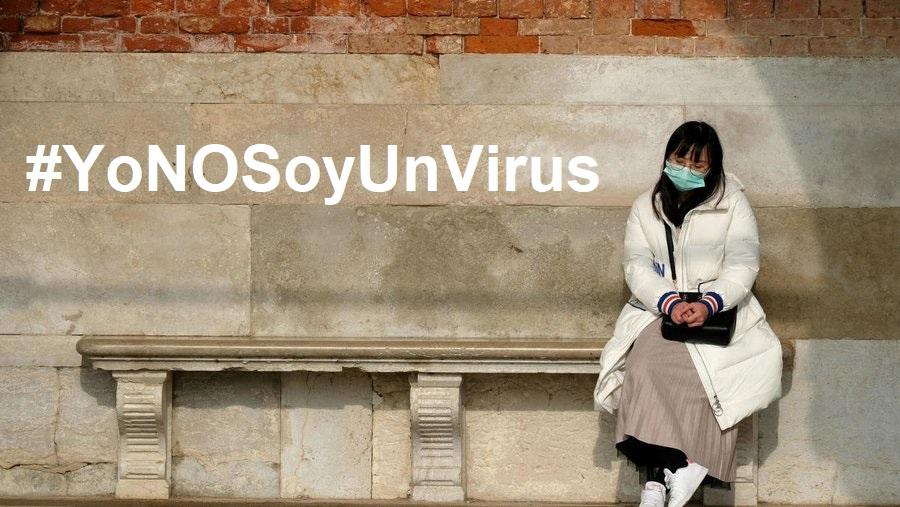 #YoNOSoyUnVirus