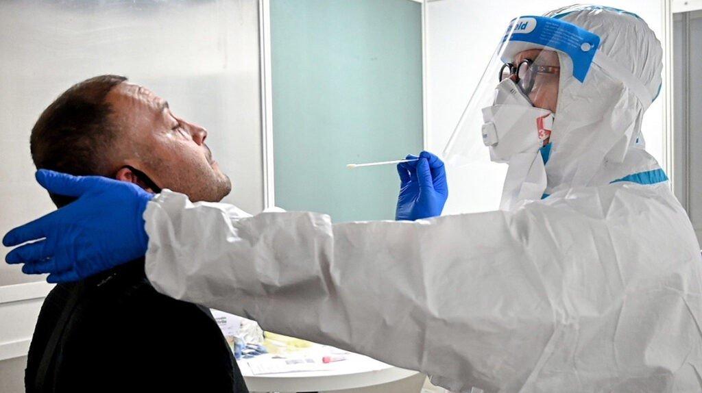 Realización test de antígenos
