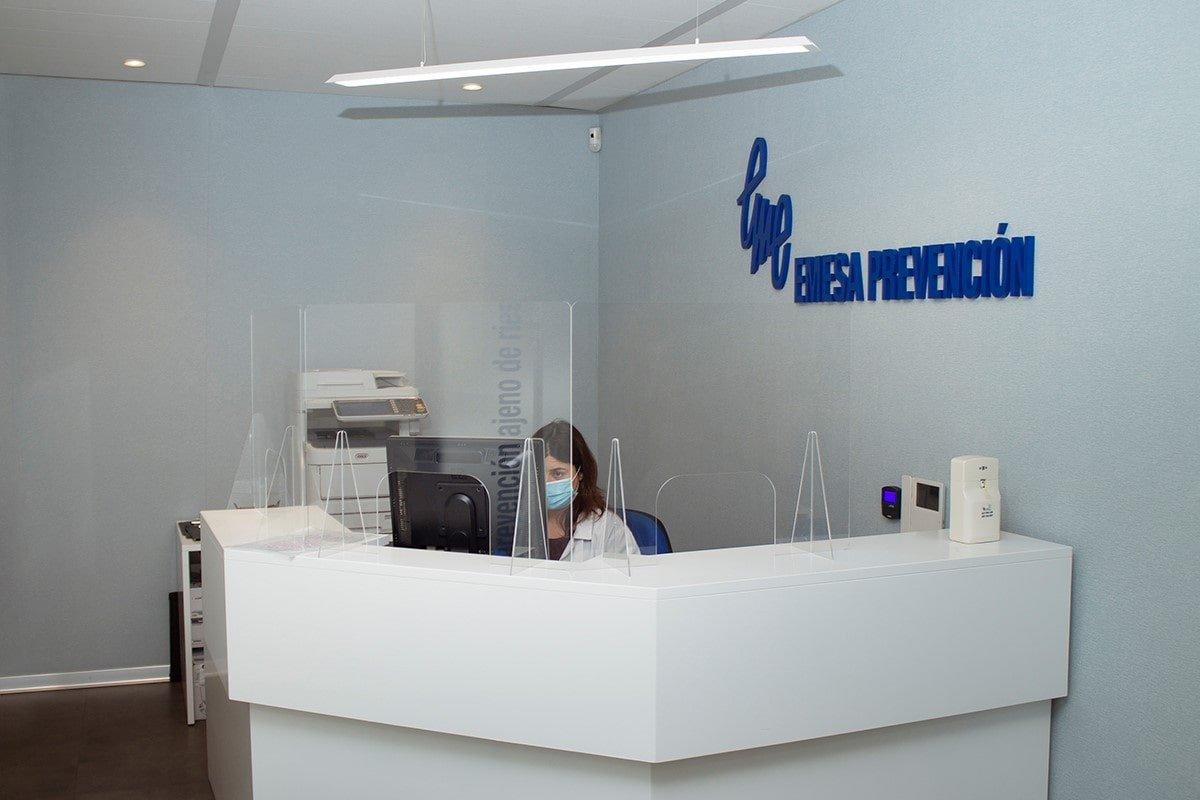 Recepción de la oficina Emesa Prevención recepción