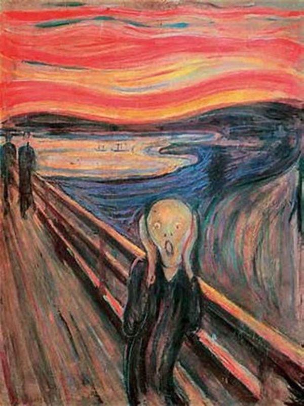 cuadro - El grito