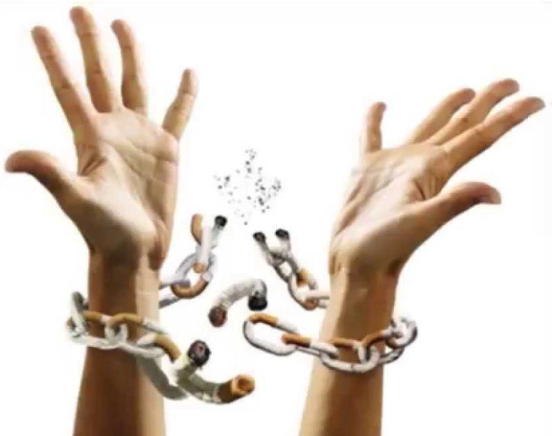 encadenado al tabaco
